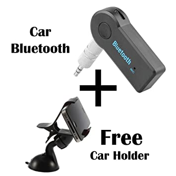 Wireless Bluetooth 3.5mm AUX Audio Music Car Receiver For Xiaomi 6 Samrtphone