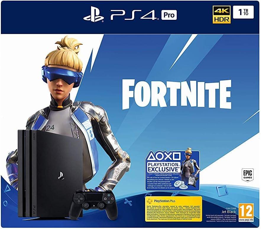 Sony PS4 PRO 1TB consola Sony Playstation 4 PRO + Fortnite Neo ...