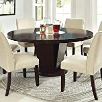 247SHOPATHOME Idf-3556T-7PC Dining-Room, 7-piece Set, Espresso