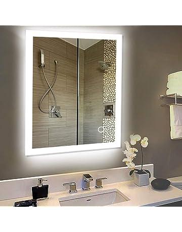 Specchio Bagno Con Luce Prezzi.Amazon It Luci Da Specchio Per Il Bagno