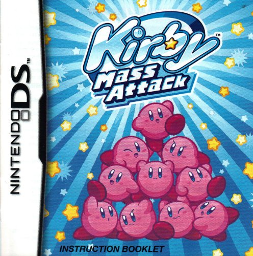 Kirby Mass Attack DS Instruction Booklet (Nintendo DS Manual Only - NO GAME) (Nintendo DS Manual)