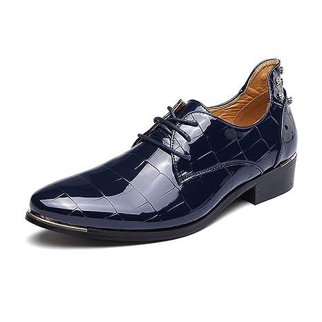 CAI Zapatos de Vestir de Cuero/Charol para Hombre Zapatos 2018 Zapatos de Vestir de