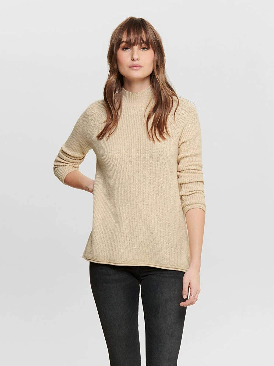 Only Onleva L//S Pullover CC Knt Donna