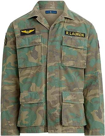 Chaqueta Ralph Lauren Military Airbone Multicolor Hombre Small ...