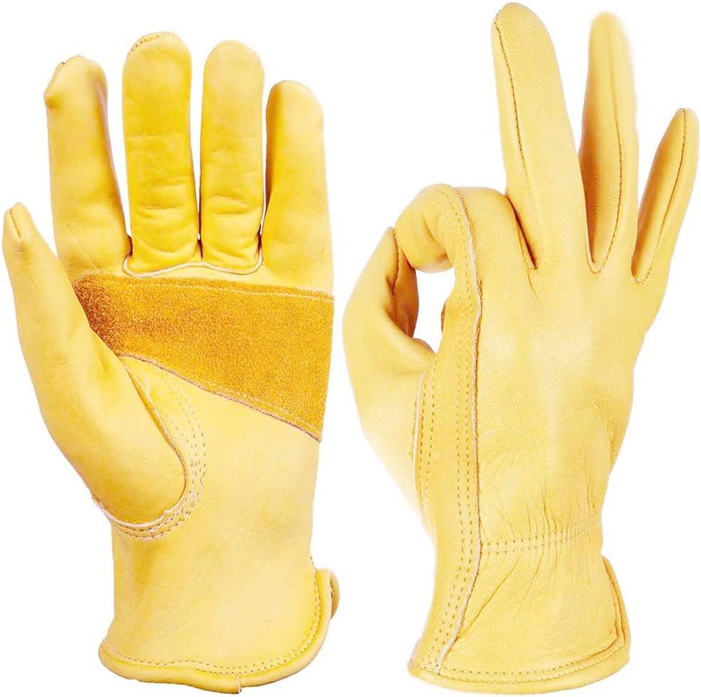 Guantes de Moto Amarillos Qbuds