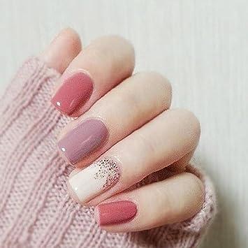 Amazon Yean False Nails 24pcsset Fake Nails Bridal Full Cover