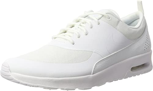 Nike Women's Air Max Thea Low Top Sneakers, White, 9.5 UK 44.5 EU
