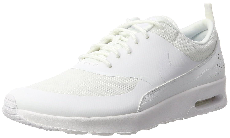 NIKE Women's Air Max Thea Low-Top Sneakers, Black B01F2M3ZAW 9.5 B(M) US|White/White-white