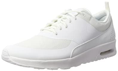 f01b45fb15a1 Nike Womens Air Max Thea White White Running Shoe 7.5 Women US