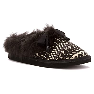 Womens Slippers Rocket Dog Barstow Black Icemaker