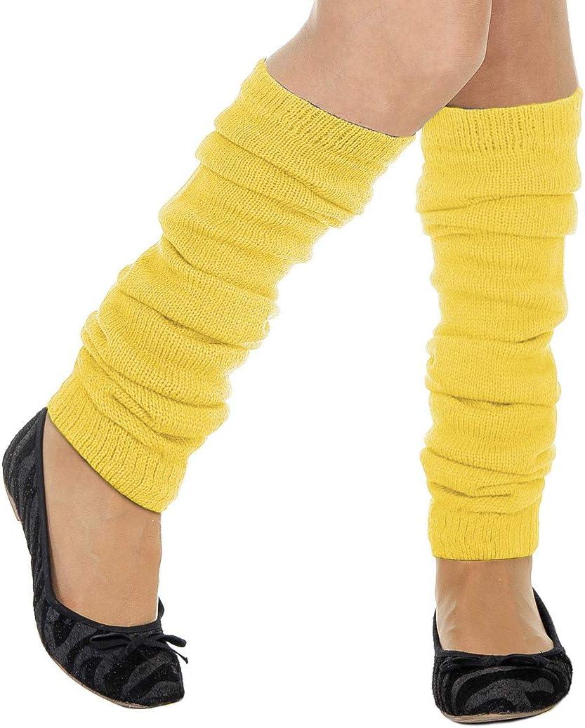 Scaldamuscoli per gambe Wilbers Stulpen tinta unita colore: Giallo