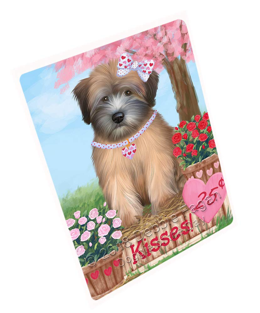 Doggie of the Day Rosie 25 Cent Kisses Wheaton Terrier Dog Blanket BLNKT125805 (50x60 Sherpa)