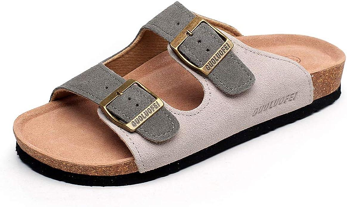 GUOLUOFEI Women's Sandals Comfort Flat