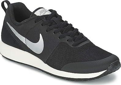 pretty nice 04ddf ce5ca Nike Damen WMNS Elite Shinsen Turnschuhe, Black (Schwarz/Metallic  Silver-Segel)