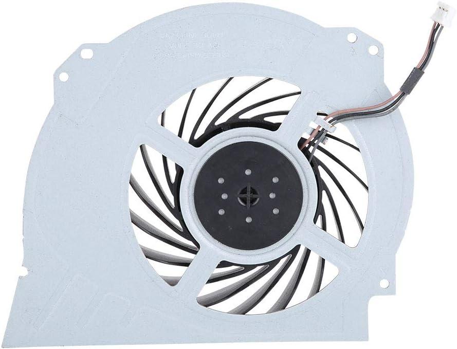 Socobeta Ventilador de enfriamiento Interno Reparaci/ón de reemplazo Ventilador de enfriamiento Compatible con PS4 Pro 7000-7500
