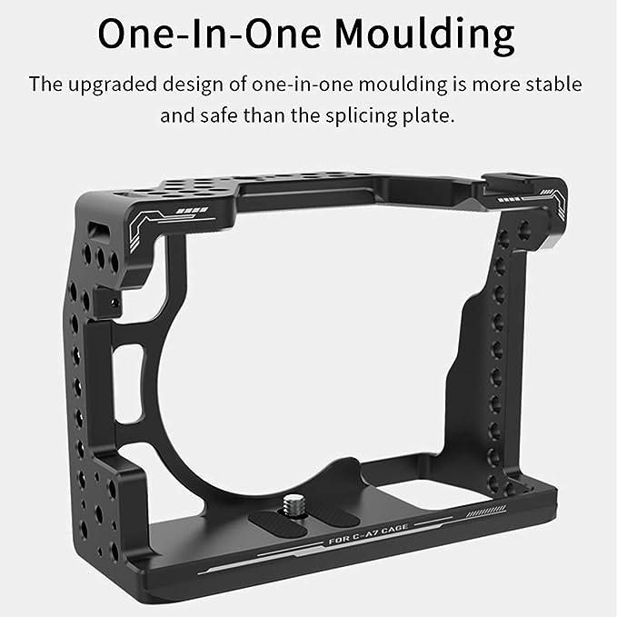 UURig C-A7III - Jaula de Metal para Sony A7 III A7M III A7R III ...
