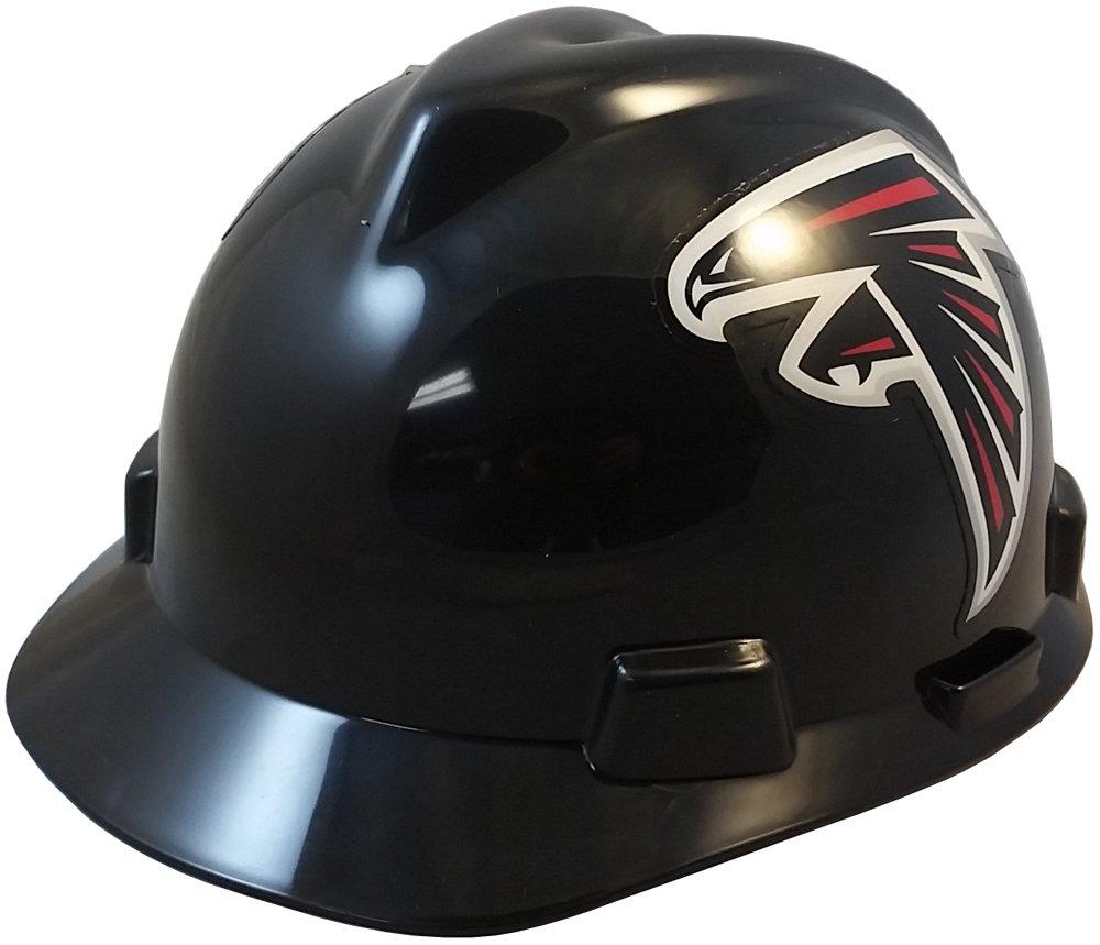 MSA NFL Ratchet Suspension Hardhats - Atlanta Falcons Hard Hats