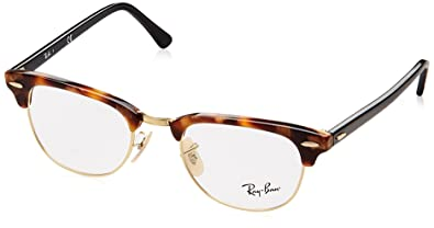 eyeglasses ray ban vista rx 5154 5494 brown havana