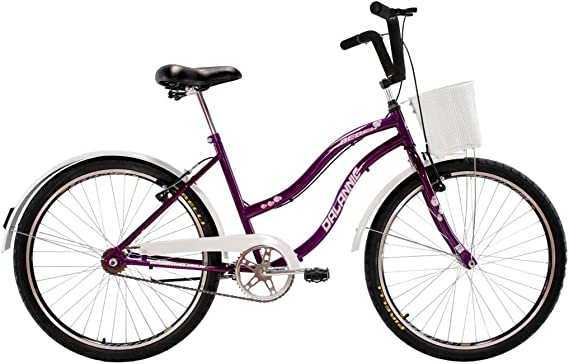 Bicicleta Retro Vintage Aro 26 Feminina Beach