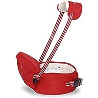 SONARIN Multifonctionnel Hipseat Baby Carrier Porte-bébé,Free Size,Toddler Support de siège de hanche,ceinture de transport avant,4 positions de transport,cadeau idéal