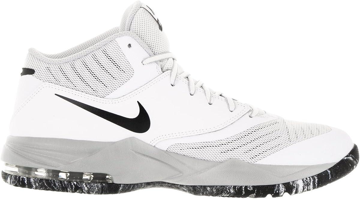 Prisionero de guerra Infantil Mus  Amazon.com   Nike Men's Air Max Emergent White/Blck/Mtllc Slvr/pr Pltnm  Basketball Shoe 9 Men US   Basketball