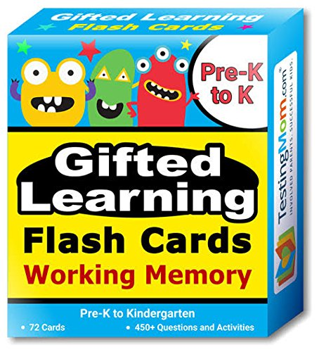 Gifted Learning Flash Cards Woodcock Johnson product image