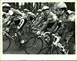 Historic Images Press Photo Peloton riders in the Tour de Trump, New York - tua06562-7 x 9 in