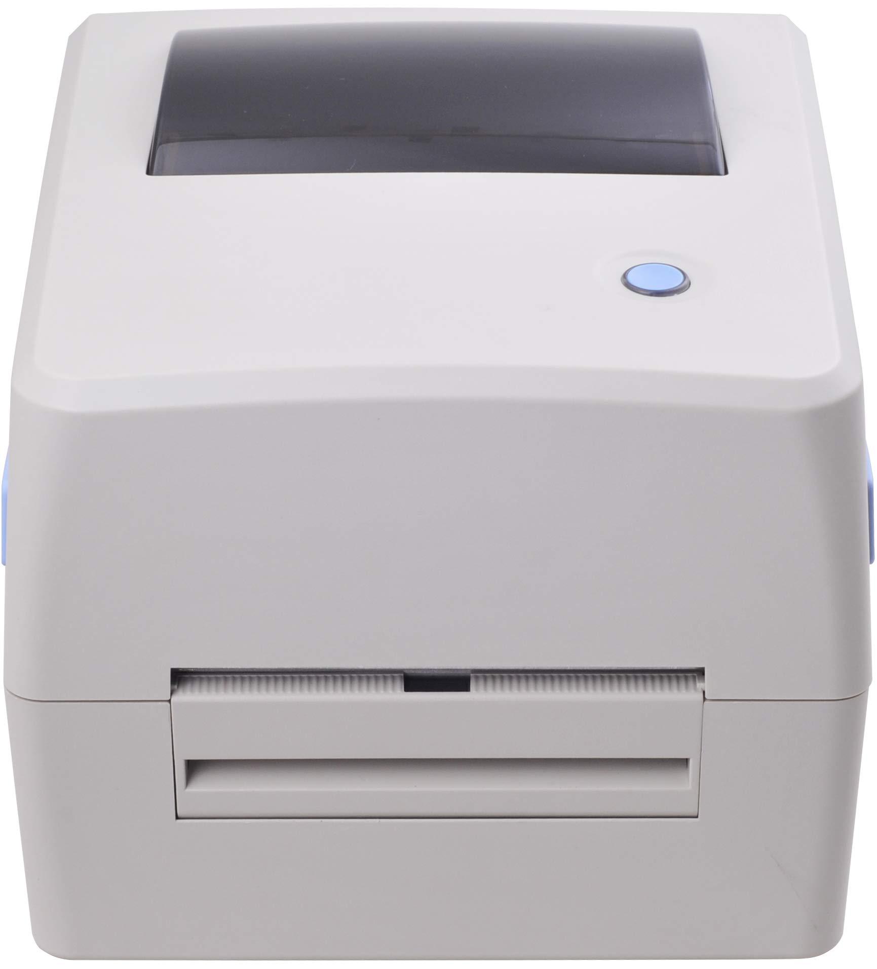 Xprinter XP-TT424B 110mm 4.3inch 203dpi Thermal and Thermal-Transfer Label Printer,Thermal and Thermal-Transfer Barcode Printer, USB 2.0 Interface by xprinter (Image #3)