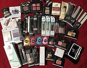 f387ea27ccf Amazon.com   e.l.f. Assorted Mixed ELF Cosmetics Lot with No ...