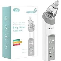 Baby Nasal Aspirator   Baby Nose Sucker   Snot Sucker for Baby - Baby Nose Cleaner, Automatic Booger Sucker for Infants…