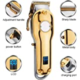 Hair Clipper, libeier Rechargeable Cordless Men's Grooming Kit Hair Trimmer Personal Haircutting Kit