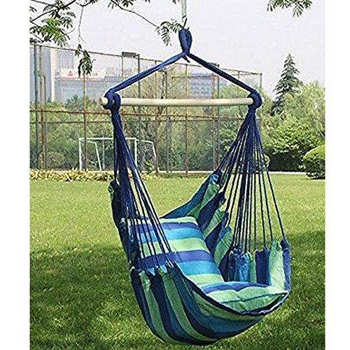 Hammock Hanging Rope Chair Porch Swing Seat Patio Camping Portable - Shopping Panama Online