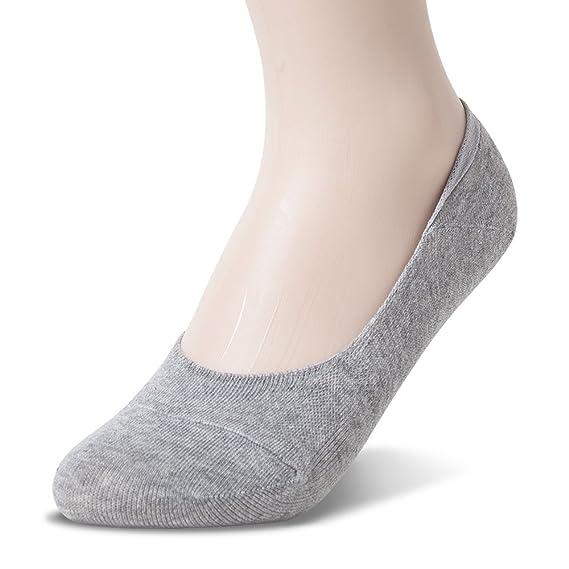 Sockstheway Calcetines invisibles para mujer, antideslizantes, corte bajo: Amazon.es: Ropa y accesorios
