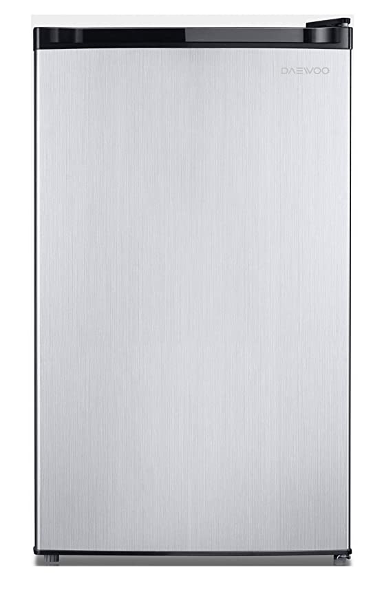 Daewoo FR-016RBE refrigerador, 1.6 pies cúbicos, color negro ...