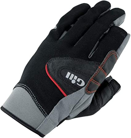 Gill Championship Long Finger Sailing Gloves Black 7251