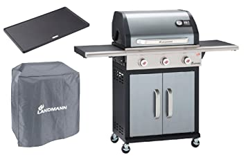 Landmann Gasgrill Fettauffangschale : Gasgrill barbecue of the champion pts 3.0 anthrazit: amazon.de: garten