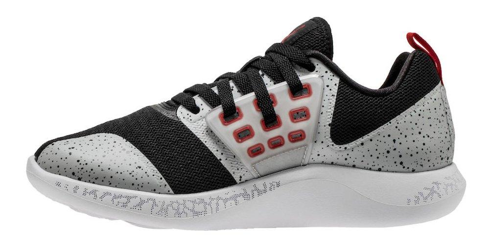 Jordan Lifestyleメンズクラシックポロ B002ARY7J6 Black/University Red-wolf Grey-white 9.5 M US