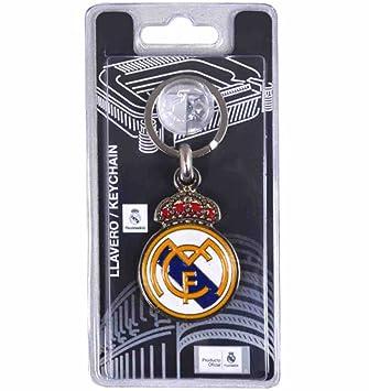 LLavero Real Madrid escudo metálico sintético [AB2178 ...