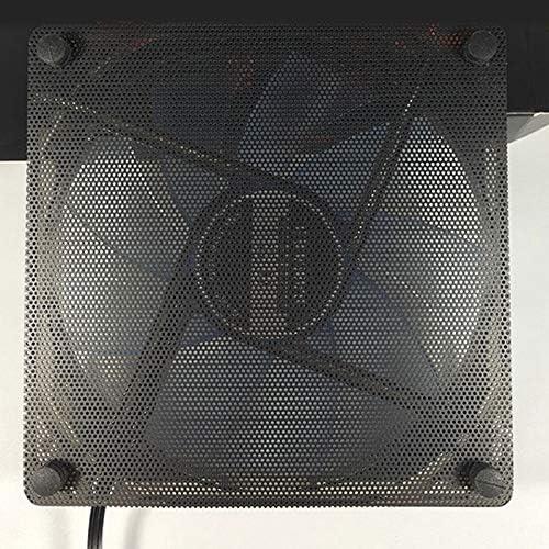 Kul-Kul 2pcs 12cm Dust Proof Net Computer Case Fan Cooler Filter Dustproof Mesh Cuttable