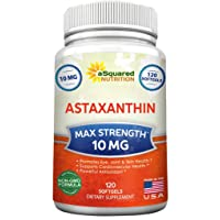 aSquared Nutrition Astaxanthin Supplement - Pure Natural Astaxanthin Pills from...