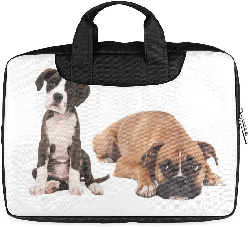 Twin Sides Printing Modern Design Funny Dogs Laptop Notebook Handle Sleeve Bag Case Cover for 13 inches MacBook Pro