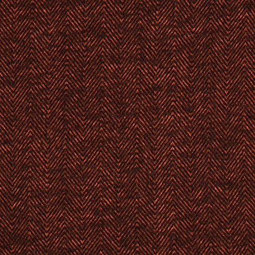 Herringbone Flannel Shirt - Robert Kaufman Kaufman Shetland Flannel Herringbone Russet Fabric By The Yard