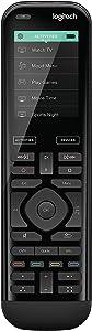Logitech Harmony 950 Advanced IR Remote Control, Black (Renewed)