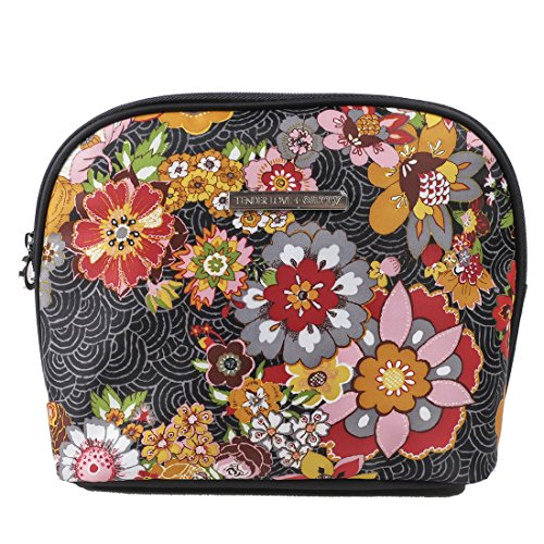 Tender Love + Carry Large Cosmetic Case Floral (Tropical Makeup Vanity)