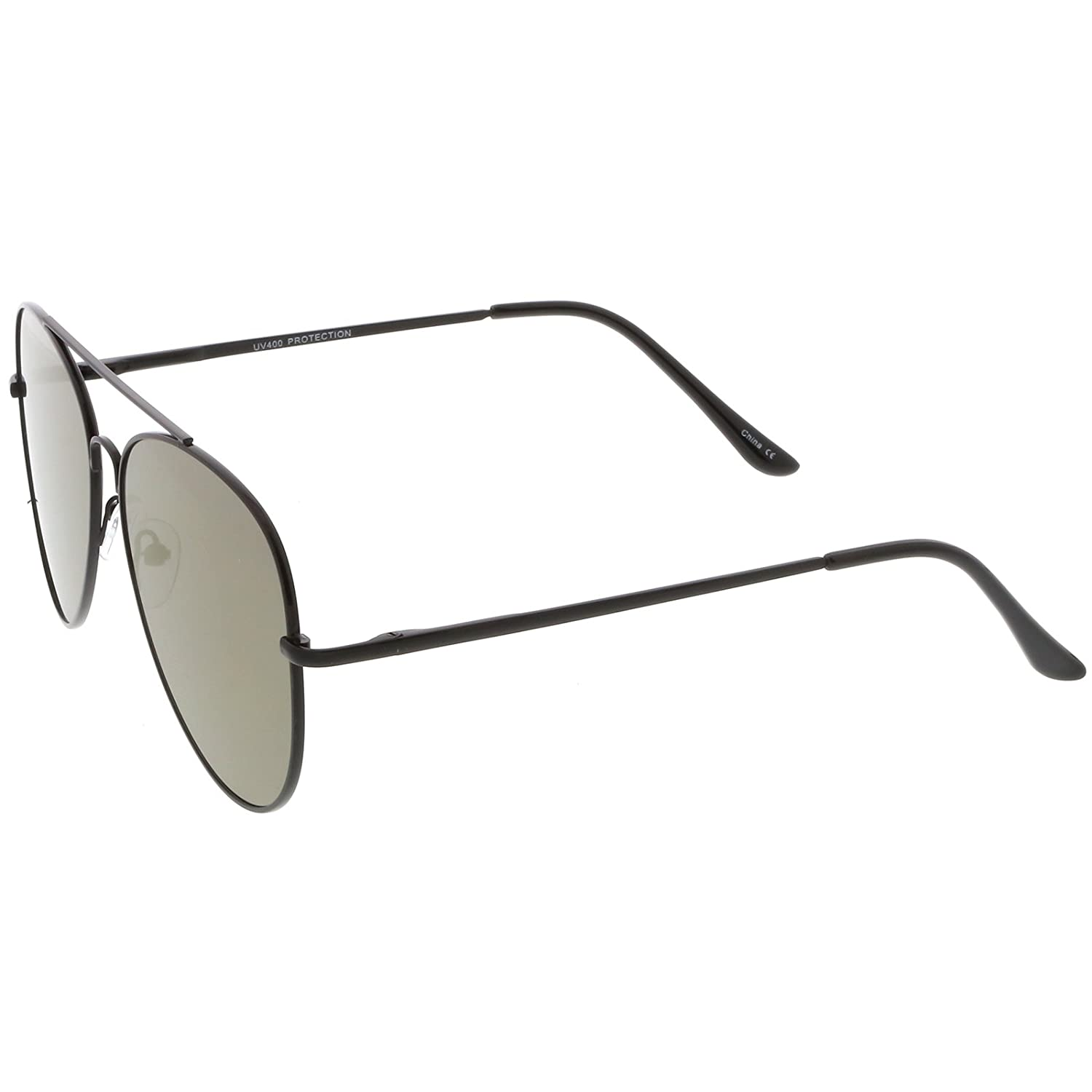 Amazon.com: sunglassla – Classic metal Aviator anteojos de ...