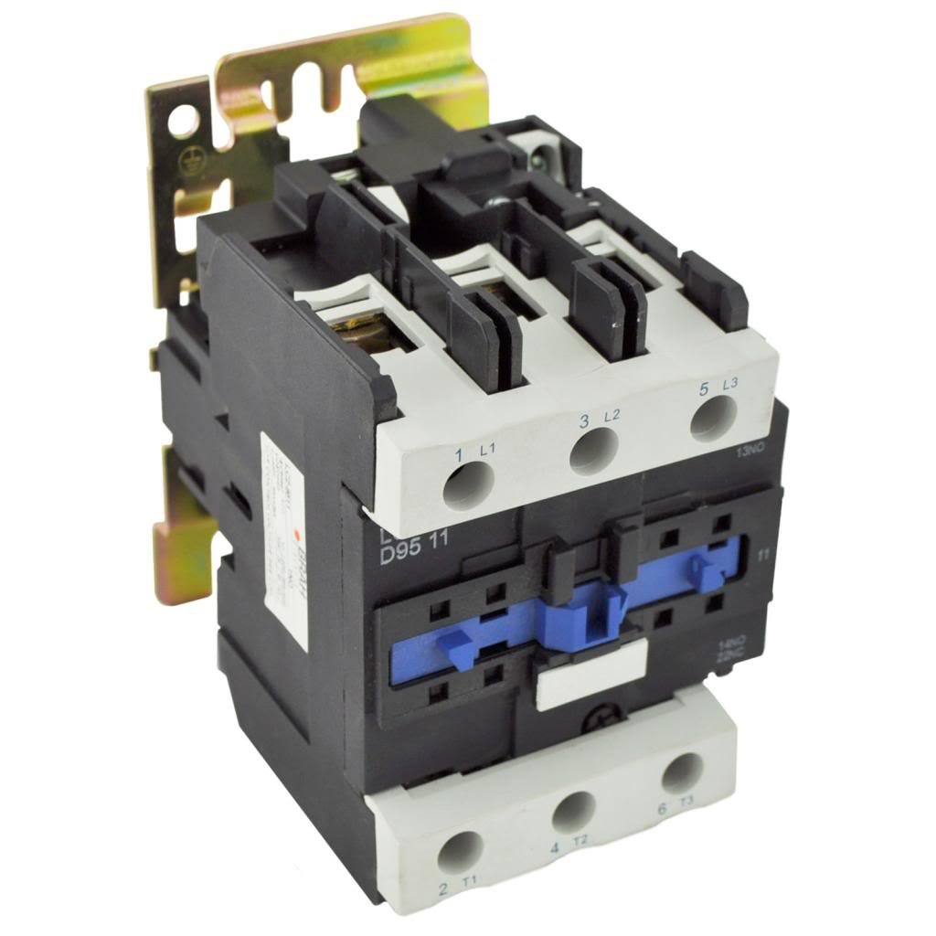 Direct Replacement For Telemecanique Lc1 D95 Ac Contactor Lc1d95 Wiring Lc1d9511 M6 220v Coil 3 Phase Pole 95 Amp Industrial Scientific