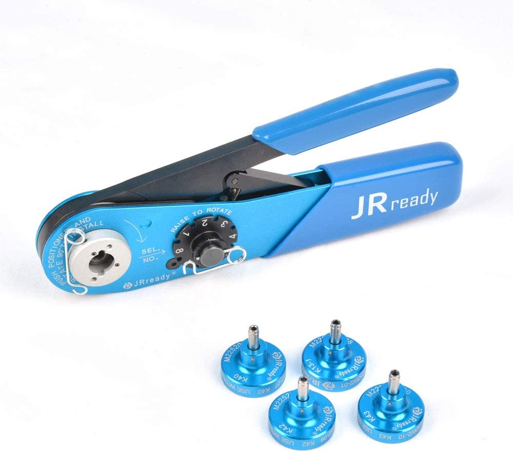 Crimping round contacts of connectors and other contacts;Wire Crimp Range:12-26AWG widely used for the crimping of wires and contacts JRready