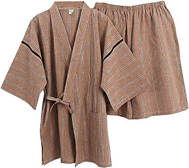 Traje de Pijama Kimono de Estilo japonés para Hombres [G ...