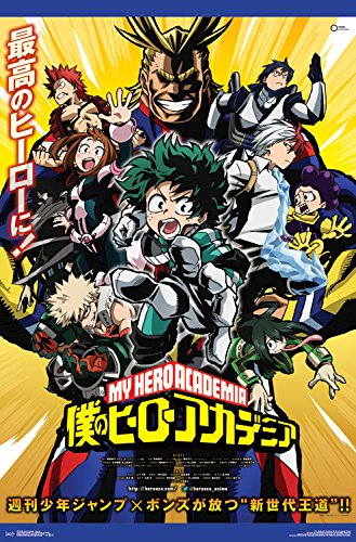 "Trends International My Hero Academia Key Art Wall Poster, 22.375"" x 34"" from Trends International"