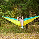 oaskys Camping Hammock Double with 2 Tree Straps